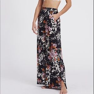 Free People Late Night Floral Pants